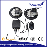 Brushless DC motor and controller kit bldc motor controller for wheelchair with strong climbing ability