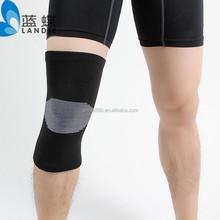 Customized Nylon Spandex Knitting Long high elastic knee sleeves support brace