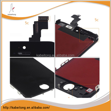 lcd display with touch screen digitizer assembly black for iphone5c