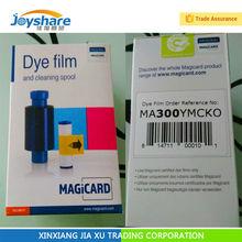 Magicard ENDURO+ RIO PRO card printer ribbon consumable MA300 YMCKO 5 panel color dye film YMCKO 300 images