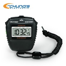Precision digital pocket stopwatch with 1/100sec resolution