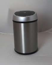 5 liter can 42liters automatic trash bin 42l s/s ash can