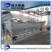 Waste PP/PE Film Plastic Recycling