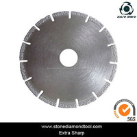 105mm vacuum brazed band diamond saw cutting tools for rock stone