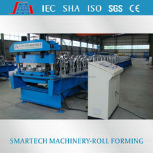 Shaoxing smartech metal making galvanized steel deck floor roll forming machine