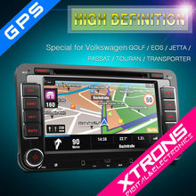 """Xtrons 7"""" Digital Touch Screen Double Din Car Audio special For VW"""