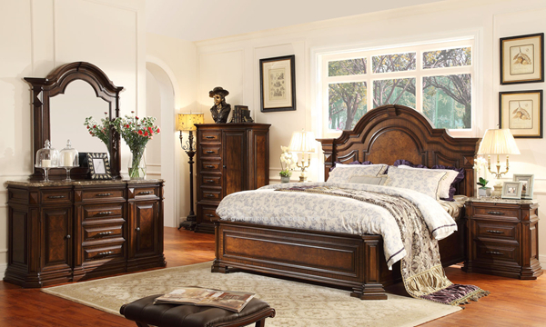 Wholesale antique bedroom set dubai bedroom set china furniture factory wa150 At home furniture dubai