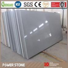 Hot selling Colors Grey Crystal Quartz Stone Big Slabs