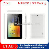 7 Inch MTK8312 Dual core gps function mtk 8312 tablet