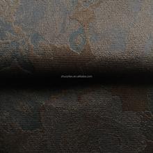 new velvet bronzing tricot fabric print fabric