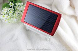 Dual USB 10000mAh Solar Power Bank Charger