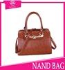 hot! new arrival elegant brown french bag brand name women's european fashion tote bag women bulk wholesale handbags from China