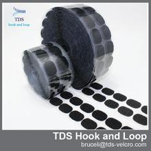 Best price polyester adhesive hook and loop dot ,sticky hook and loop