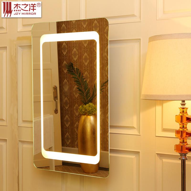 Led bathroom mirror bathroom mirror with led light full for Full length bathroom mirror