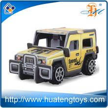 2015 NEW wholesale kids educational toy diy car model 3d paper Games Puzzle