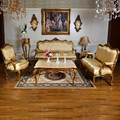 Casa em estilo europeu dongguan móveis sala sofá secional tecido