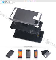 New arrival combo case for samsung galaxy note 3, pc tpu back shell