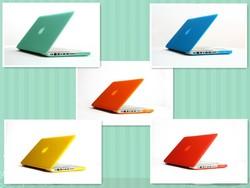 "New colorful super hard matt laptop case for Macbook 12"""
