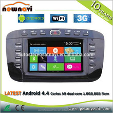 touch screen Car stereo for Fiat punto/Linea with 3G CONNECTOR AND GPS TV FM AM RDS BLUETOOTH