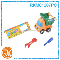 Children toy car assembled truck brain game