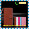 fashion design PU leather cell phone cover case wallet for iphone