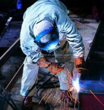 high ATPV value 7OZ cotton nylon super soft finishing fireproof fabric factory for safety workwear
