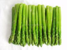Chinês cultivo IQF vegetais congelados espargos