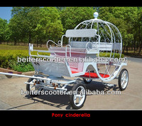 Romantic cinderella horse carriage/cinderella carriage for wedding for sell