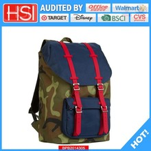 audited factory wholesale price pinup pvc school bag
