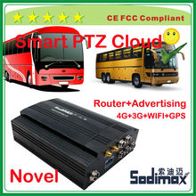 Brazil bus realtime 3G WIFI router entertainment goods