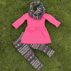 tunic aztec sets children boutique clothing set fall girls boutique outfits princess and pea giggle moon kaiya skirt