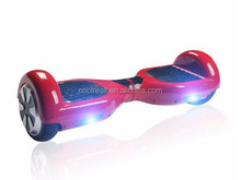 2 wheels electronic self balancing scooter,LED Light with colorful