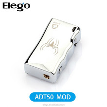 Innovative Design 2015 Hottest Box Mod Arctic Dolphin ADT 50W Temp Control ADT 50W