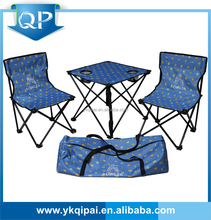 HOT SALE AND CHEAP CAMPING SET, folding table and chairs