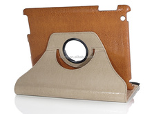 Removable leather flip case PU Leather Tablet Stand Case for ipad 2,3,4
