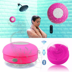New arrival!! New products 2016 innovative product electronics ,shower speaker covers waterproof bluetooth speaker subwoofer