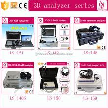 3D NlS Hormones Analyzer 3D NLS Body Analyzer, Skin Analysis Machine