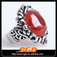 Fashion Best Seller Party stainless steel ring 18k gold ring with diamonds