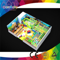 Fitness indoor play equipment for kids, high quality theme play park