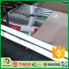 Baosteel brand cold rolling 8k mirror polished stainless steel 316 sheet/plate wholesale