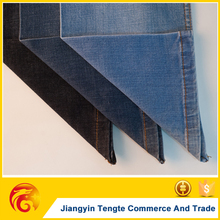 Skirts Denim Fabric company Poly/cotton/spandex factory in China