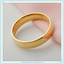 Stainless steel fashion design 18k gold filled ring for sale