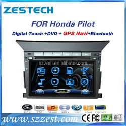"ZESTECH brand new OEM 7"" touch screen car audio stereo for Honda pilot car dvd gps with 3g bluetooth TV tuner"