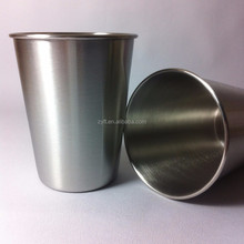 2015 hot promotion 201 304 316 stainless steel coffee cup for drinking