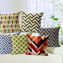 New Modern Geometric Sofa Seat Cushion Covers