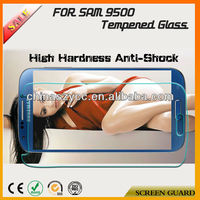 Hot Popular Anti-scratch Anti-shock Tempered Glass Screen Protector For Samsung I9500