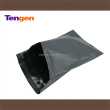 Good quality grey ldpe waterproof plastic courier envelope for packaging F135