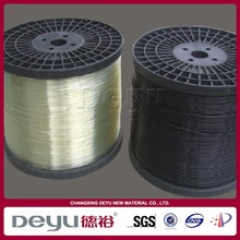 China Changzhou 4.0mm plastic polyester wire,wiggle wire for greenhouse