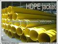 HDPE tubería de protección externa
