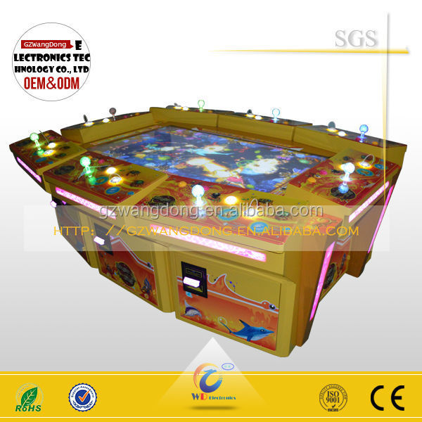High quality ocean fighter fishing game king of treasure for Ocean king fish game